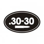 .30-30 Cal Ammo Can Sticker Decal