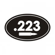 .223 Cal Ammo Can Sticker Decal