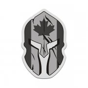 Canada Subdued Flag Spartan Helmet Tactical Military Sticker Decal V3