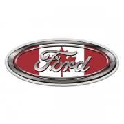 Ford Canada Flag Oval Canadian Sticker Decal