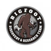 Bigfoot Sasquatch Discovery & Research Team Subdued Gray Sticker Decal
