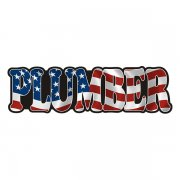 American Plumber Sticker Decal