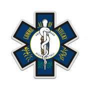 Kentucky State Flag Star of Life KY EMT Paramedic EMS Sticker Decal