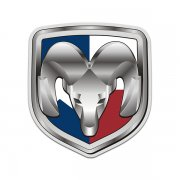 Dodge Ram Texas State Flag TX Sticker Decal