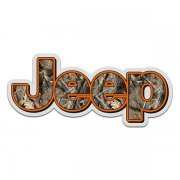 Jeep Camo Wrangler Rubicon Hunting Camouflage Sticker Decal