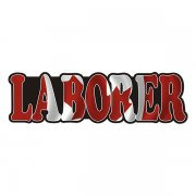 Laborer Decal Canada Canadian Flag Vinyl Hard Hat Sticker