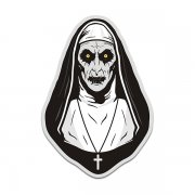 Valak Demon The Nun Conjuring Creepy Horror Sticker Decal