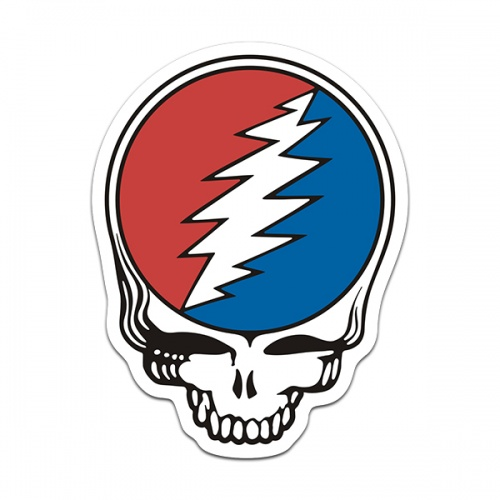 Grateful Dead Band Steal your Face Rock n' Roll Sticker Decal