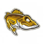 Walleye Angler Fishing Boat Fish Sticker Decal V1