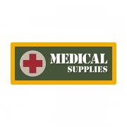 Medical Supplies Ammo Can Vinyl Label Sticker Ammunition Box Case Decal V2