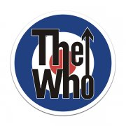 The Who Band Target Rock n' Roll Sticker Decal