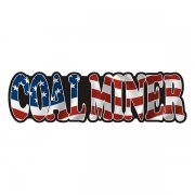 American Coal Miner Sticker Decal