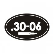 .30-06 Cal Ammo Can Sticker Decal