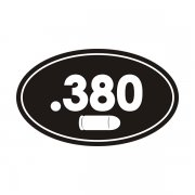 .380 Cal Ammo Can Sticker Decal