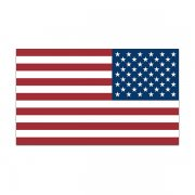 American Flag (LH) Sticker Decal