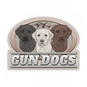 Labrador Retriever Gun Dogs Hunting Waterfowl Sticker Decal