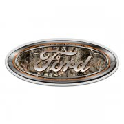 Ford Camo Oval Hunting Camouflage Sticker Decal