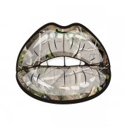 Camo Sexy Lips Country Girl Hunter Sticker Decal V2