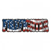 American Firefighter Sticker Decal