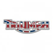 Triumph Motorcycles UK British Flag Sticker Decal V1