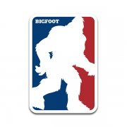 Bigfoot Sasquatch Logo Squatch Hunter Hunting Sticker Decal