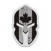 Canada Subdued Flag Spartan Helmet Decal Canadian Sticker