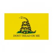 Gadsden Don't Tread on Me Flag Sticker Decal