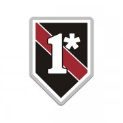 1* Asterisk One Ass to Risk Thin Red Line Firefighter Sticker Decal