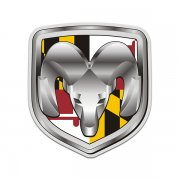 Dodge Ram Maryland State Flag MD Sticker Decal