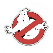 Ghostbusters Ghost Logo Vinyl Sticker Decal