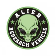 Alien Research Vehicle Area 51 Extraterrestrial ET Life Sticker Decal