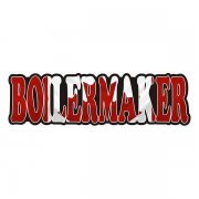 Boilermaker Decal Canada Canadian Flag Vinyl Hard Hat Sticker