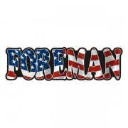 American Foreman Sticker Decal
