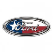 Ford Texas State Flag Oval TX Sticker Decal