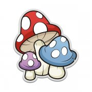 Mushrooms 'shrooms Drug Sticker Decal