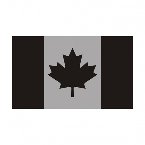 Canada Subdued Flag Decal Canadian Military Window Vinyl Sticker