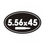 5.56 x 45 Ammo Can Sticker Decal