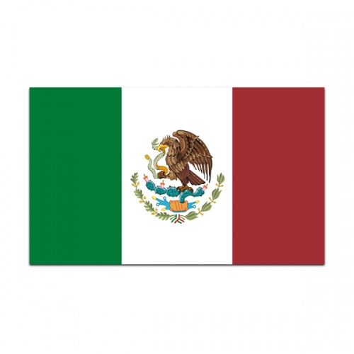 Mexico Flag Decal Mexican Mexicana Car Truck Window Vinyl