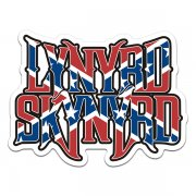 Lynyrd Skynyrd Band Rebel Confederate Flag Rock n' Roll Sticker Decal