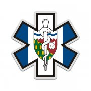 Northwest Territories Flag Star of Life NT EMT Paramedic EMS Sticker Decal