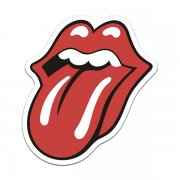 Rolling Stones Band Tongue Rock n' Roll Sticker Decal