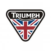Triumph Motorcycles Triangle UK British Flag Sticker Decal V3