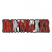 Ironworker Decal Canada Canadian Flag Vinyl Hard Hat Sticker