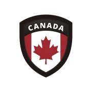 Canada Flag Canadian Shield Badge Sticker Decal