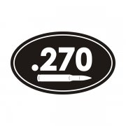.270 Cal Ammo Can Sticker Decal