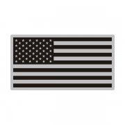 American Gray Black Subdued Flag Special OPS US USA Decal Sticker (RH) V3