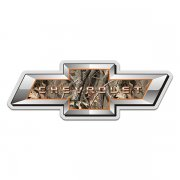 Chevrolet Camo Bow Tie Chevy Hunting Camouflage Sticker Decal
