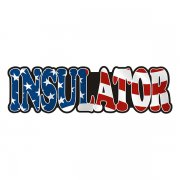 Insulator Decal American Flag USA United States Vinyl Hard Hat Sticker