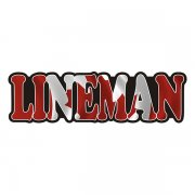 Lineman Decal Canada Canadian Flag Vinyl Hard Hat Sticker