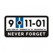 9/11 Memorial Never Forget WTC Pentagon Sticker Decal